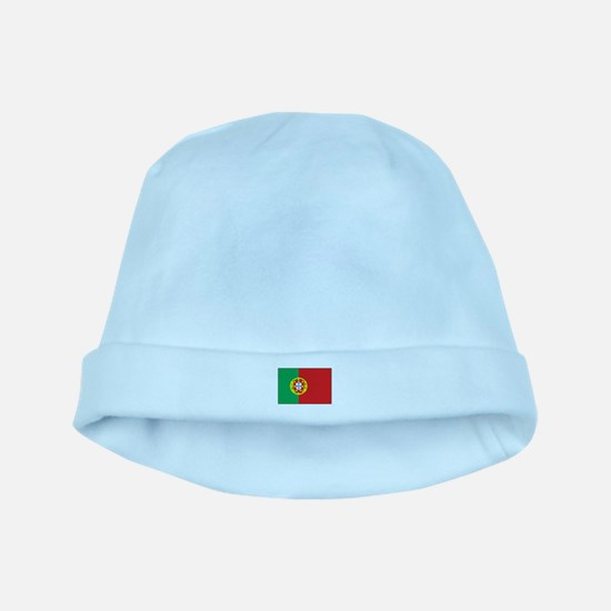 The Flag of Portugal baby hat