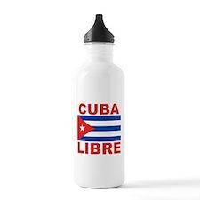 Cuba Libre Free Cuba Water Bottle