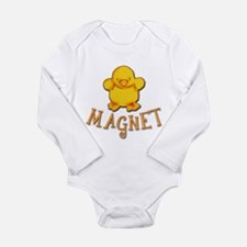 Chick Magnet Long Sleeve Infant Bodysuit