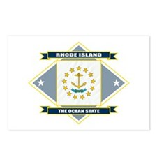 Rhode Island Flag Postcards (Package of 8)