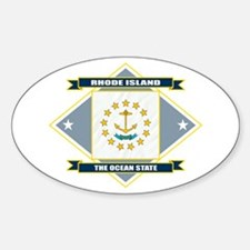 Rhode Island Flag Decal