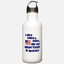 Funny 4th of july Water Bottle
