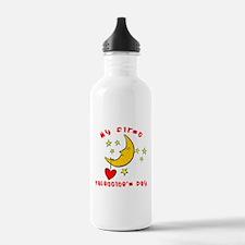 My First Valentine's Day Water Bottle