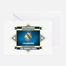 Oklahoma Flag Greeting Cards (Pk of 10)