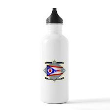 Ohio Diamond Water Bottle