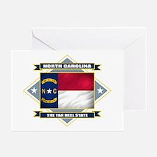 North Carolina Flag Greeting Cards (Pk of 10)