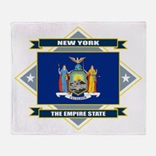 New York Diamond Throw Blanket