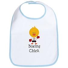 Boxing Chick Bib
