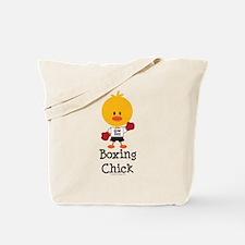 Boxing Chick Tote Bag