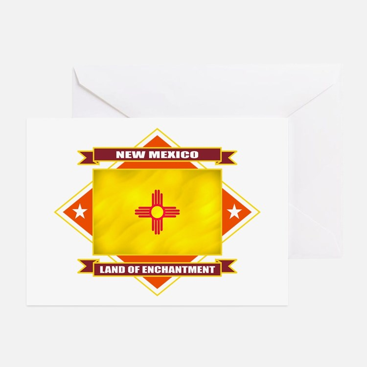 New Mexico Flag Greeting Cards (Pk of 10)