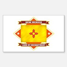 New Mexico Flag Decal