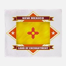 New Mexico Diamond Throw Blanket