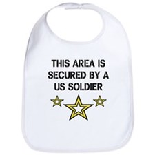 Area Secured by US Soldier Bib
