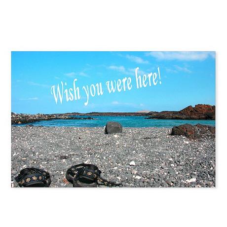 Island Paradise Postcard