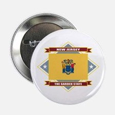 "New Jersey 2.25"" Button"