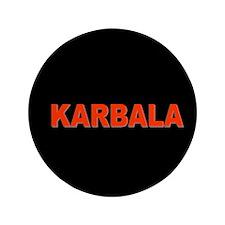 """KARBALA 3.5"""" Button"""