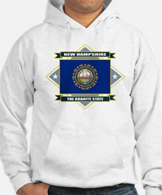 New Hampshire Flag Hoodie