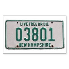 Portsmouth, NH Rectangle Decal
