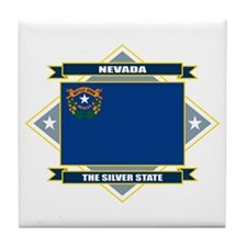 Nevada Flag Tile Coaster