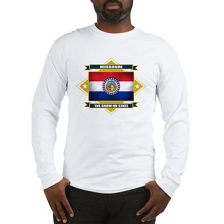 Missouri Flag Long Sleeve T-Shirt