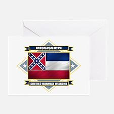 Mississippi Flag Greeting Cards (Pk of 10)