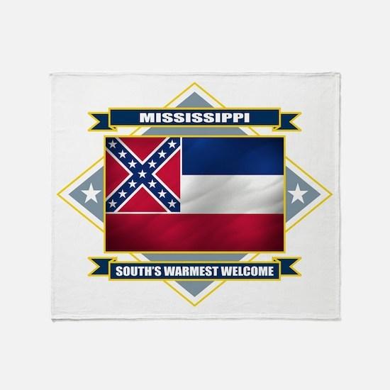 Mississippi Diamond Throw Blanket