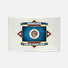 Minnesota Flag Rectangle Magnet