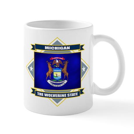 Michigan Flag Mug