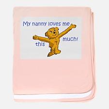 Cute Nanny baby blanket