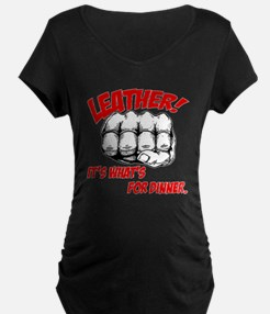 Leather! It's What's for Dinn T-Shirt