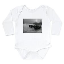 Hard Day's Night Long Sleeve Infant Bodysuit