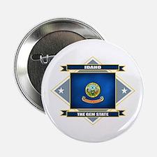 """Idaho Flag 2.25"""" Button"""