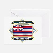Hawaii Flag Greeting Cards (Pk of 10)