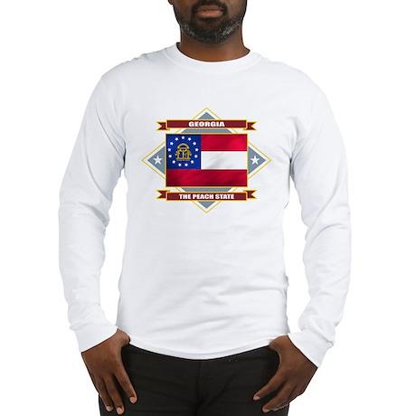 Georgia Flag Long Sleeve T-Shirt