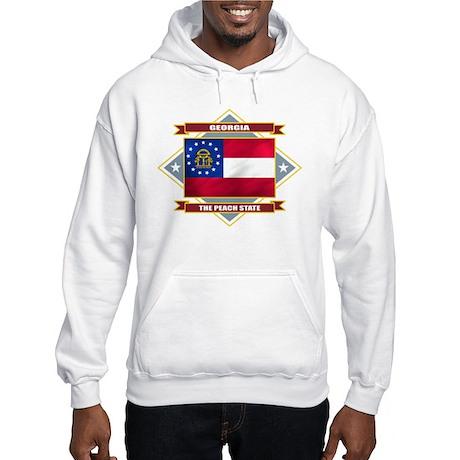Georgia Flag Hooded Sweatshirt