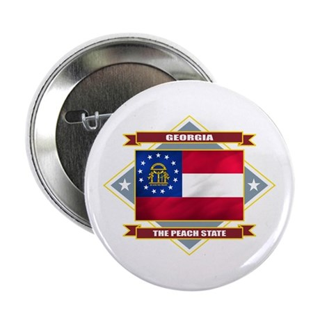 "Georgia Flag 2.25"" Button"