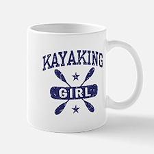 Kayaking Girl Mug