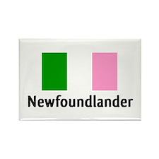 Newfoundlander Rectangle Magnet