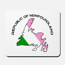 """Republic of Newfoundland"" Mousepad"