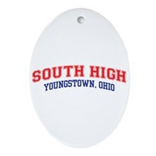 South High School Ornament (Oval)