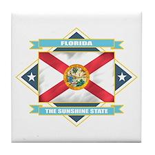 Florida Flag Tile Coaster