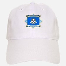 Connecticut Flag Baseball Baseball Cap