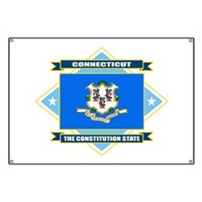 Connecticut Flag Banner
