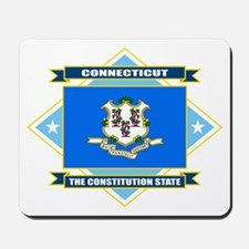 Connecticut Flag Mousepad