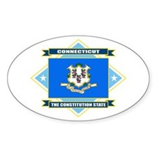 Connecticut Flag Decal