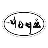 Yoga stickers Stickers