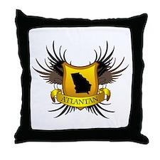 Banner, Heart & Wings - Atlan Throw Pillow