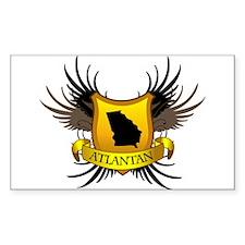 Banner, Heart & Wings - Atlan Decal