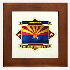 Arizona Flag Framed Tile