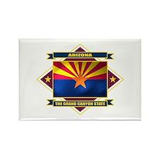 Arizona Flag Rectangle Magnet